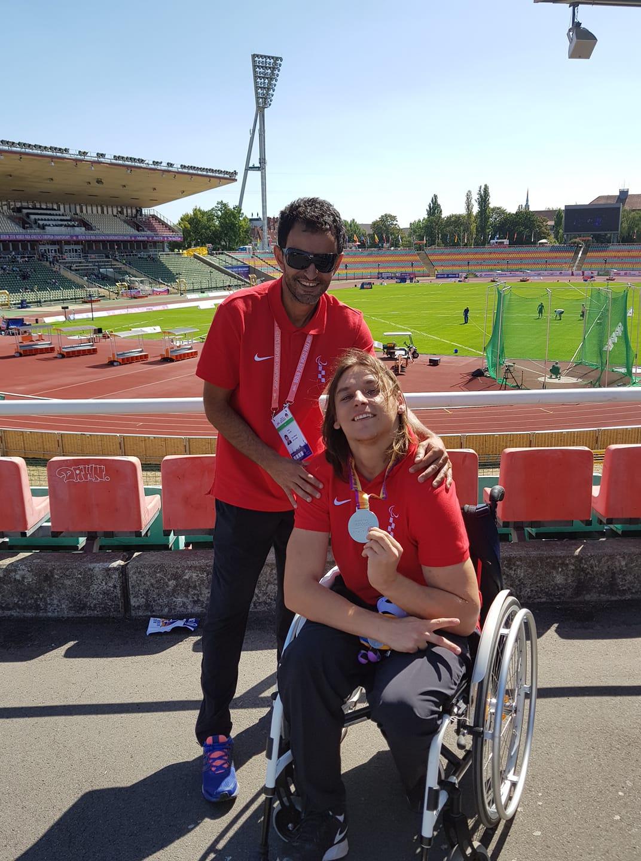 Deni Černi se izborio za Paraolimpijske igre!