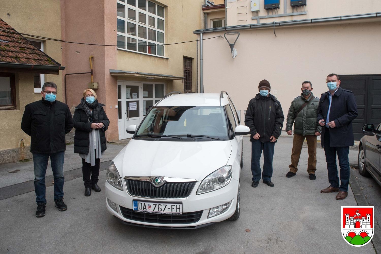 UDRUGA INVALIDA Za lakšu provedbu projekta dobili vozilo