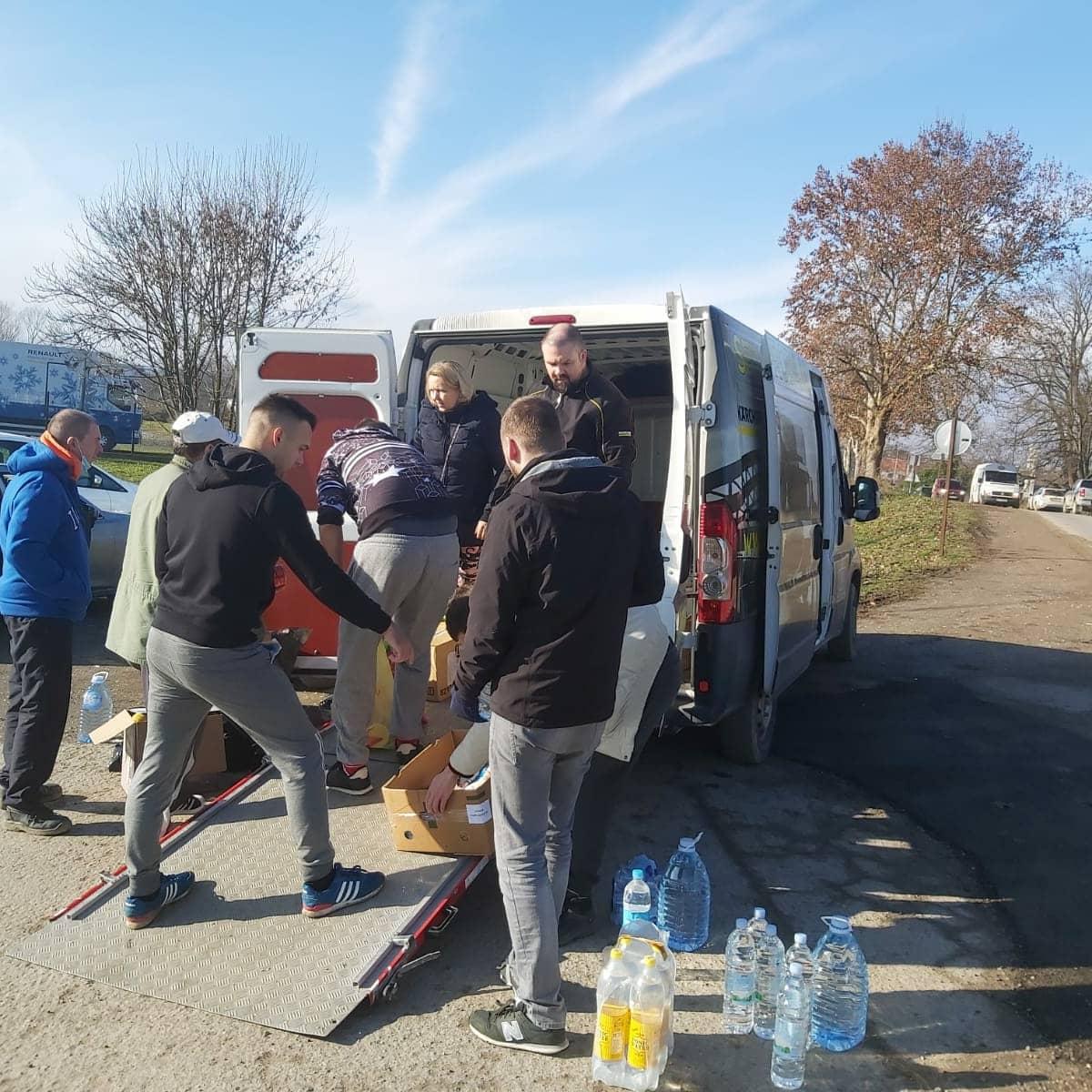 MLADEŽ HDZ-a BBŽ Prikupili pomoć za stradale od potresa