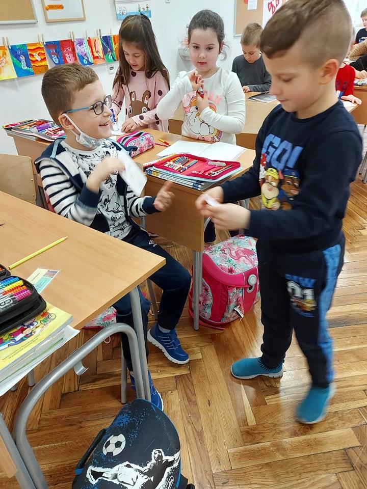 Maleni Garešničani učili uz Mendu i Slavicu