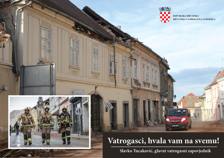 Posljedice potresa saniralo preko 10 tisuća vatrogasaca