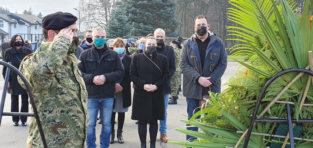 29. godišnjica ukopa bjelovarskih heroja