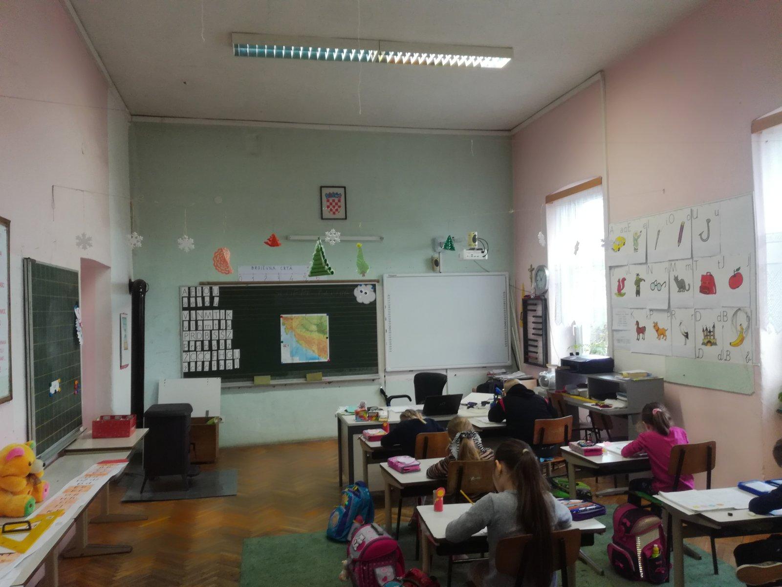 Obnavlja se škola u Gornjem Mikloušu