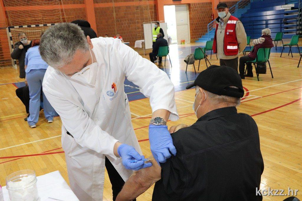U Koprivničko-križevačkoj županiji ipak će biti cijepljenja AstraZenecom