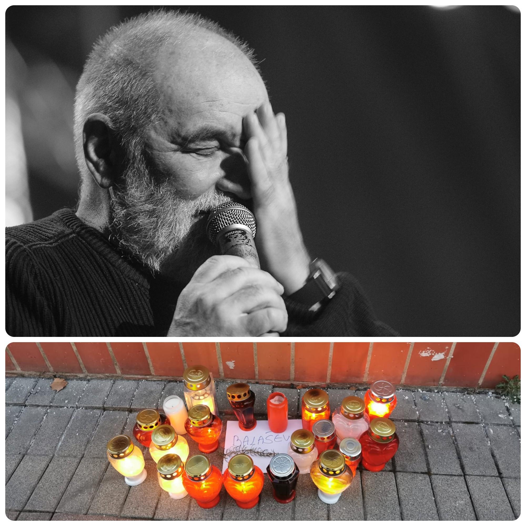 Svijeće za Đoleta zapaljene i u središtu Bjelovara