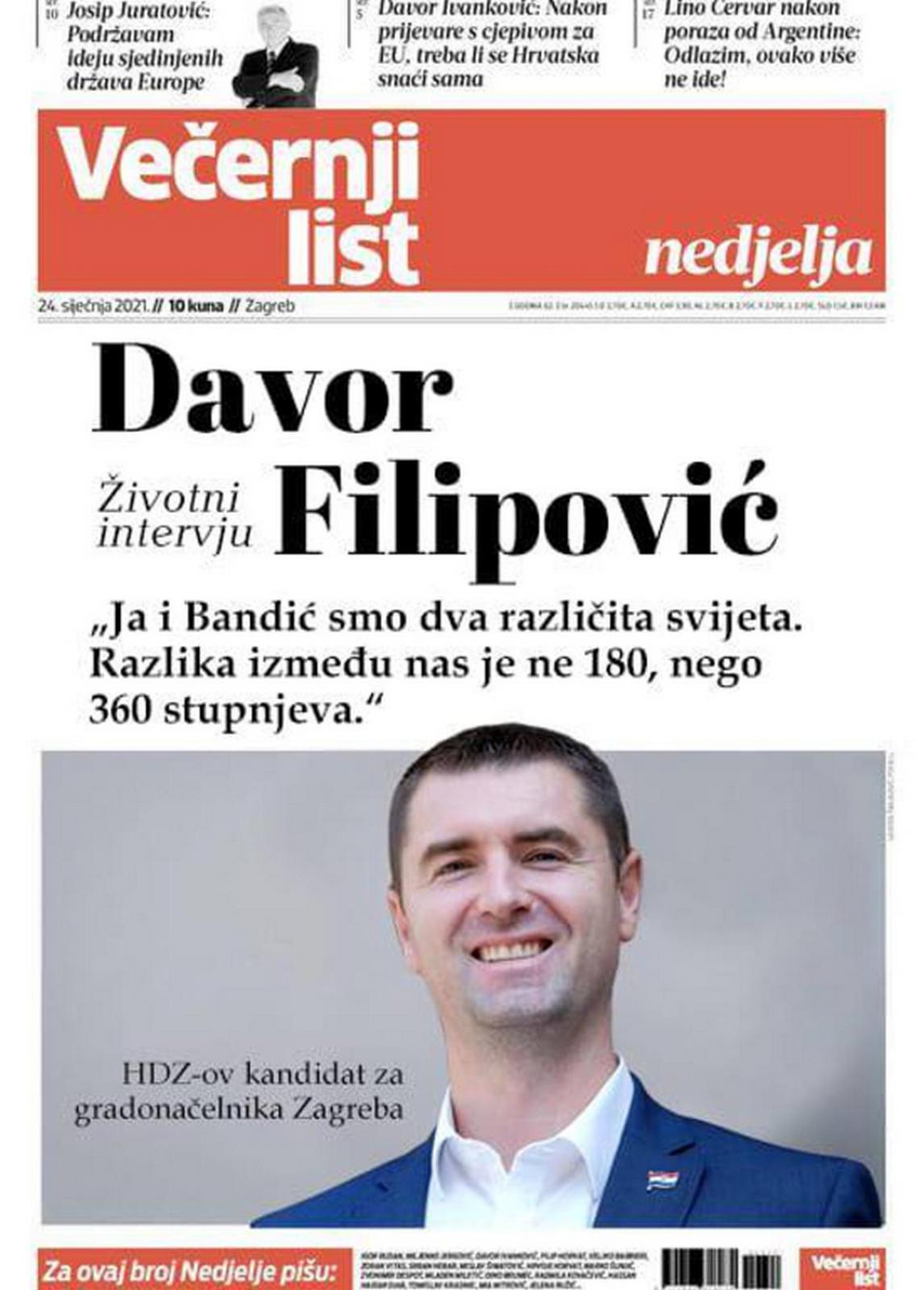 O lažnoj naslovnici oglasio se i kandidat za gradonačelnika metropole