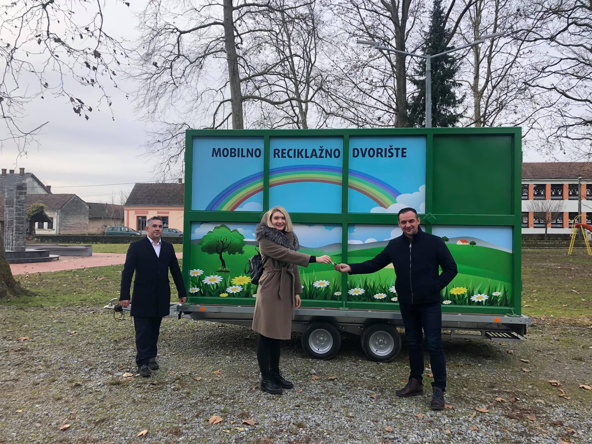U Veliki Grđevac stiglo mobilno reciklažno dvorište