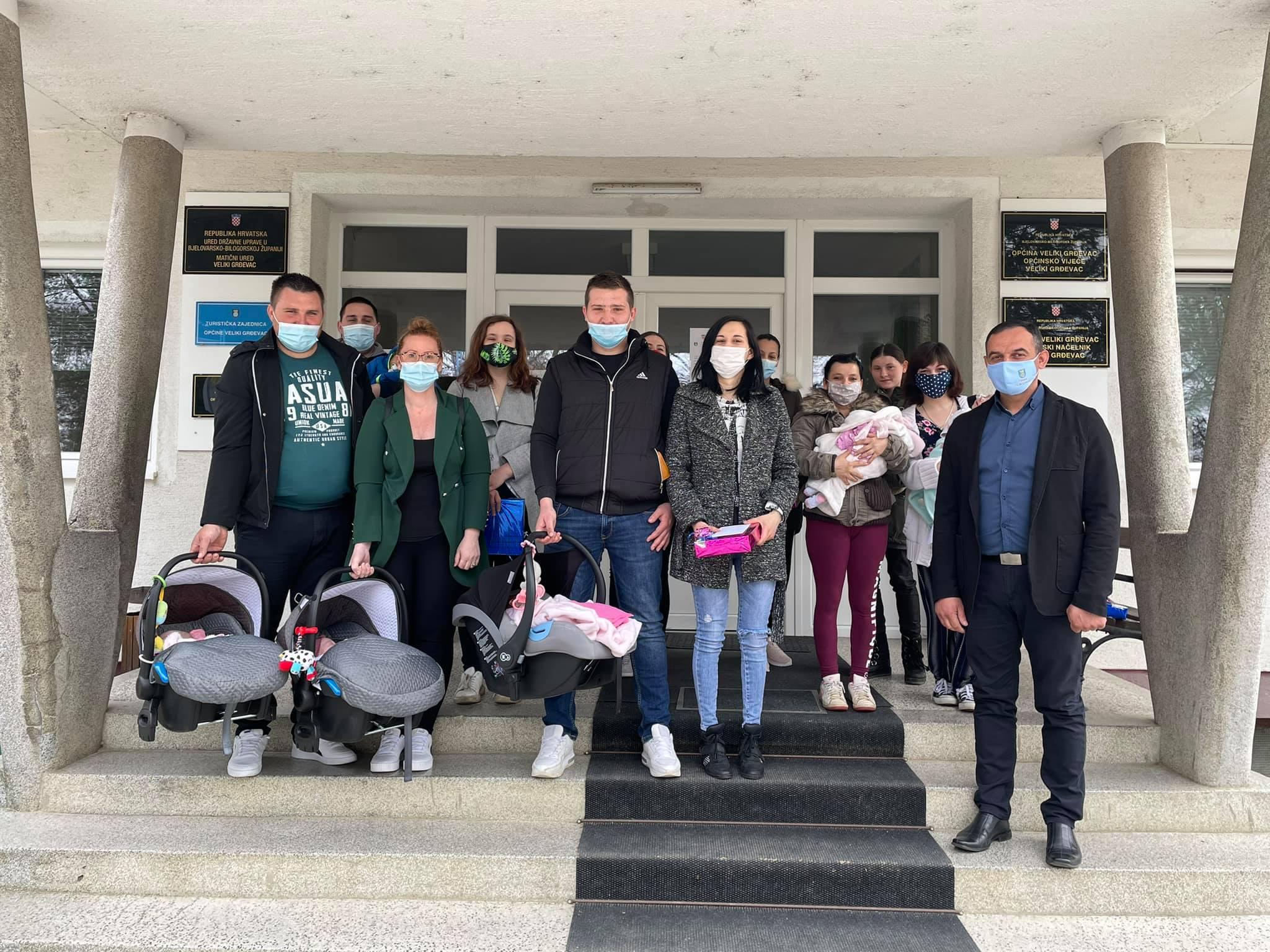 Za 11 mališana Općina rasporedila 39 tisuća kuna