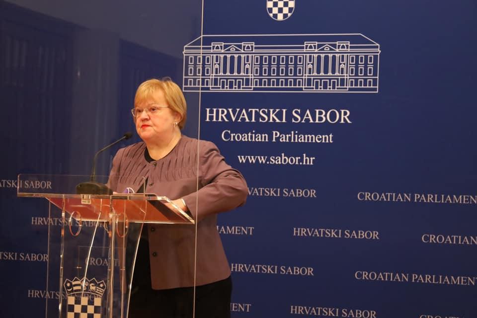 Anka Mrak Taritaš kandidirat će se za gradonačelnicu Zagreba