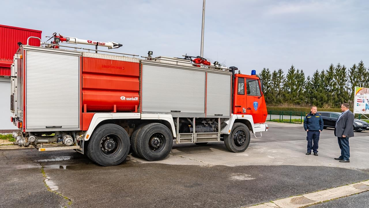 Za čazmansko vatrogastvo 4,5 milijuna kuna