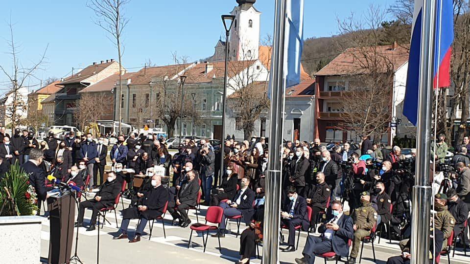 Plenković u Pakracu zahvalio braniteljima na obrani Hrvatske