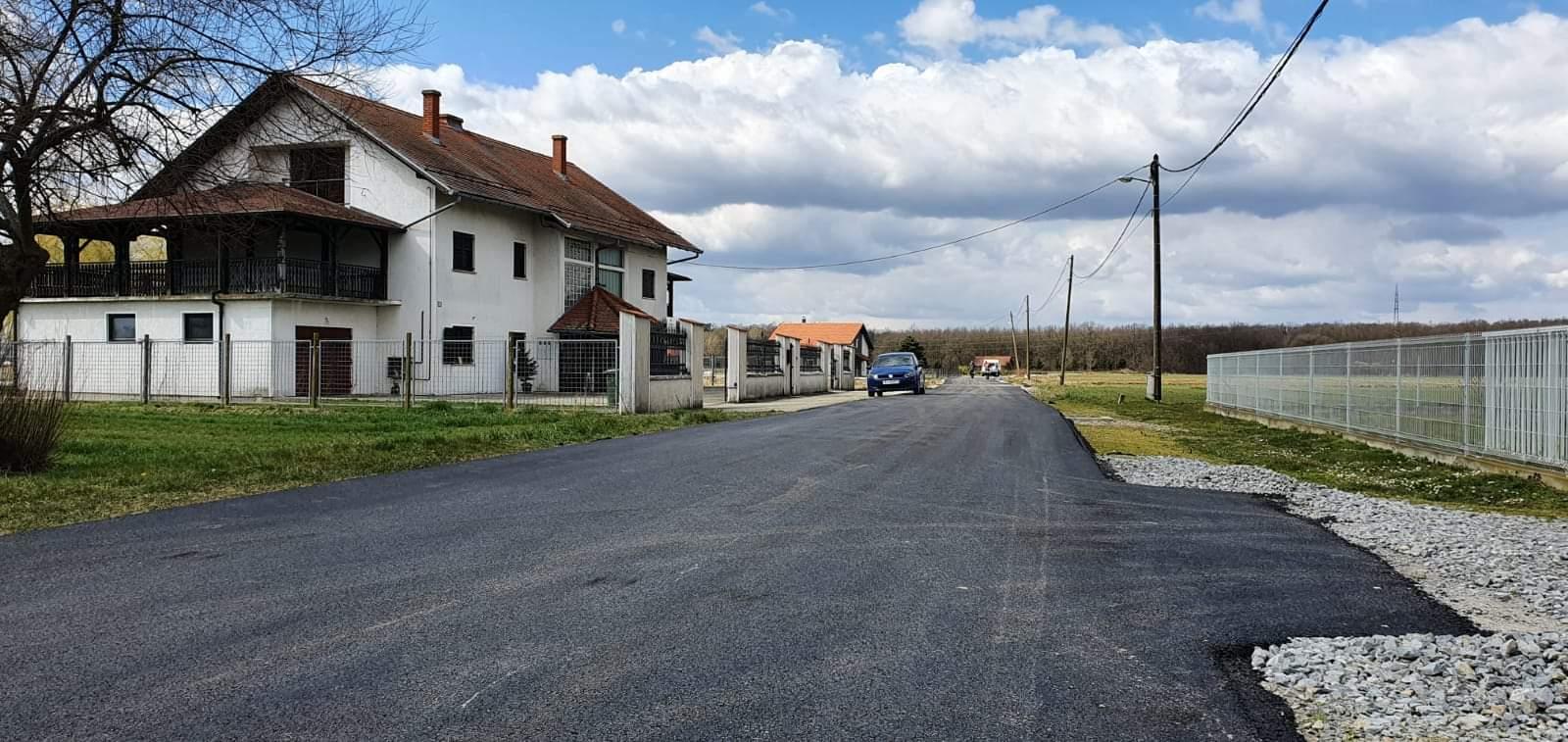 Asfaltirana ulica u Hrgovljanima, uskoro kreće izgradnja kružnog toka