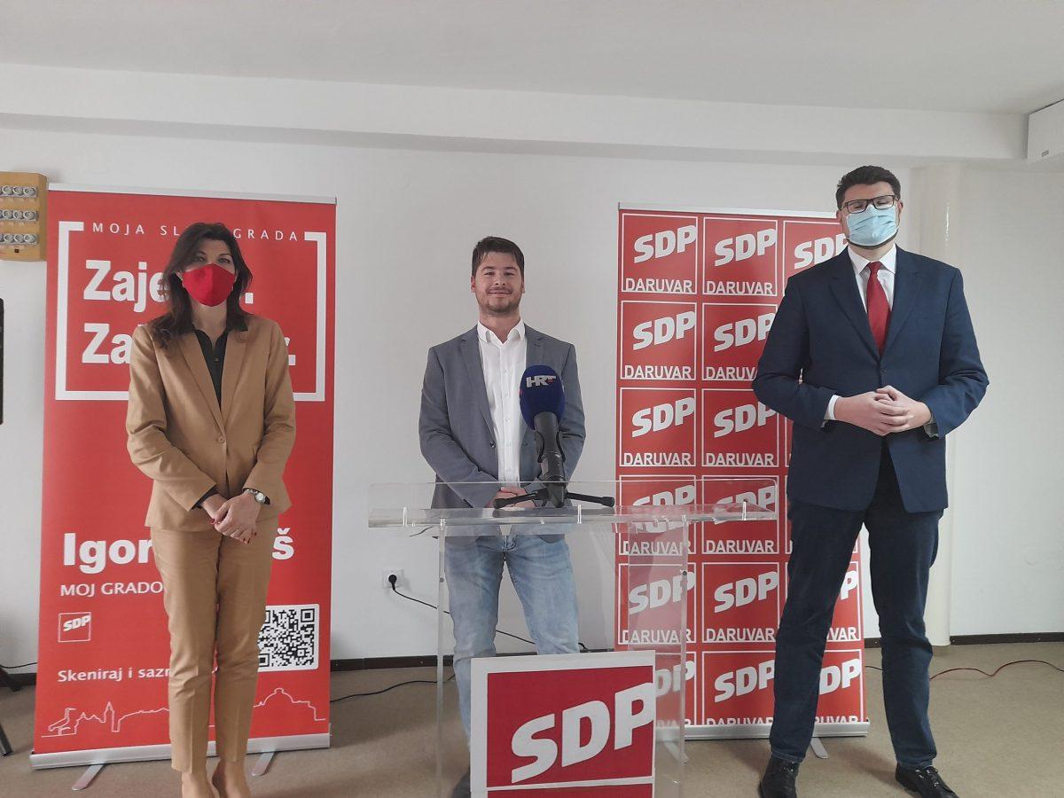 SDP-ov Jareš apelira na zajedništvo i slogu sugrađana