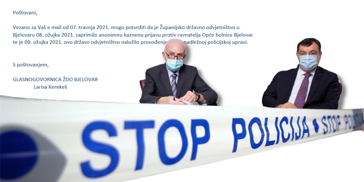 POČELA ISTRAGA: DORH naložio policiji provođenje izvida