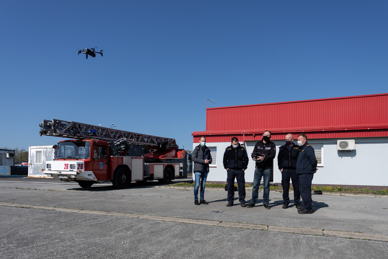 Čazmanskim vatrogascima u radu će ubuduće pomagati - dron!