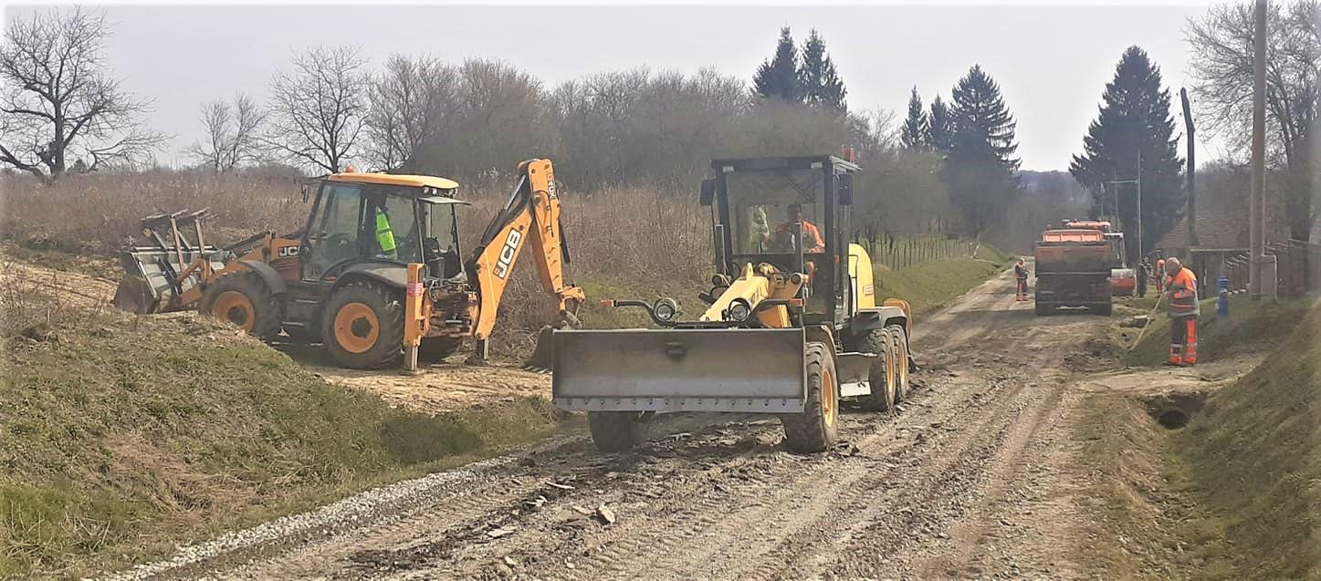 Nastavlja se modernizacija ceste kroz Dišnik