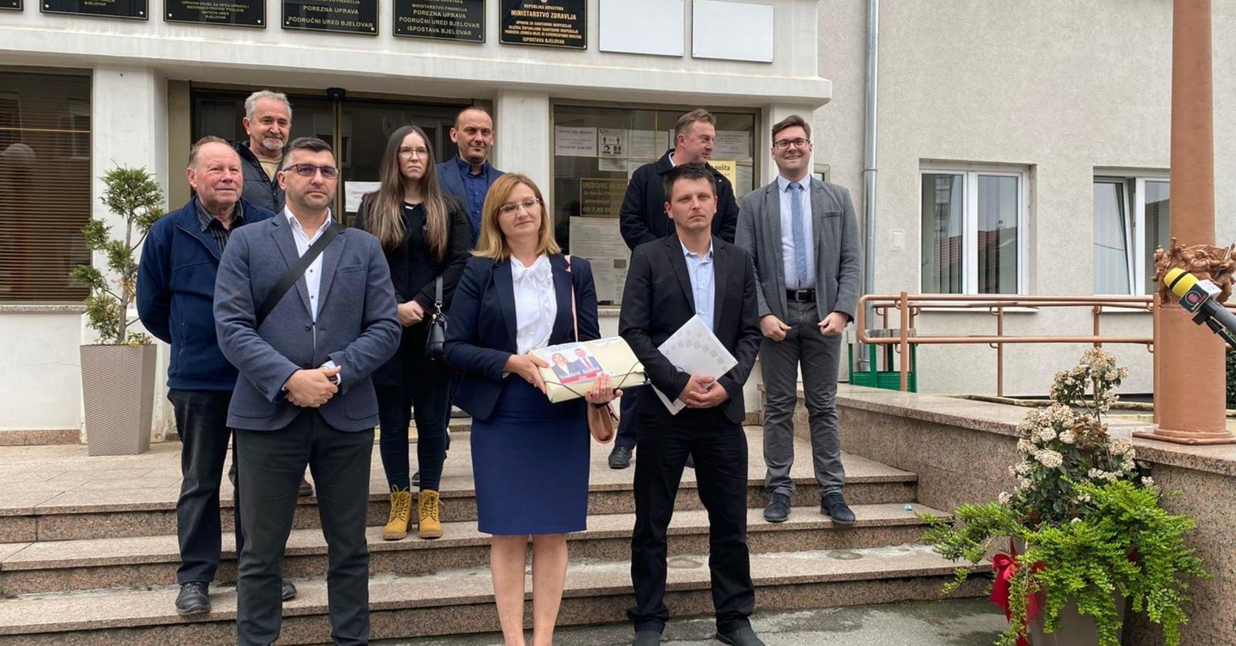 Kandidature i liste predali Domovinski pokret, SDP i HDZ