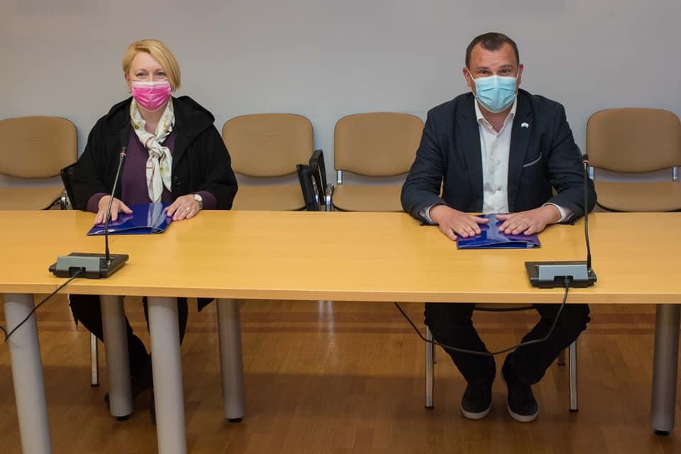 Lneniček i Cegledi obećali sugrađanima nastavak pozitivne kampanje