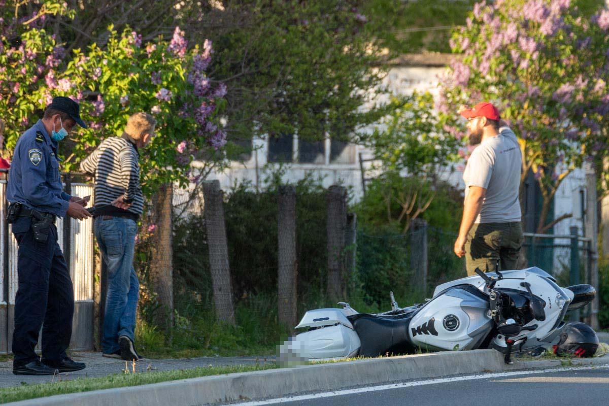 U Čazmi teško ozljeđen motociklist