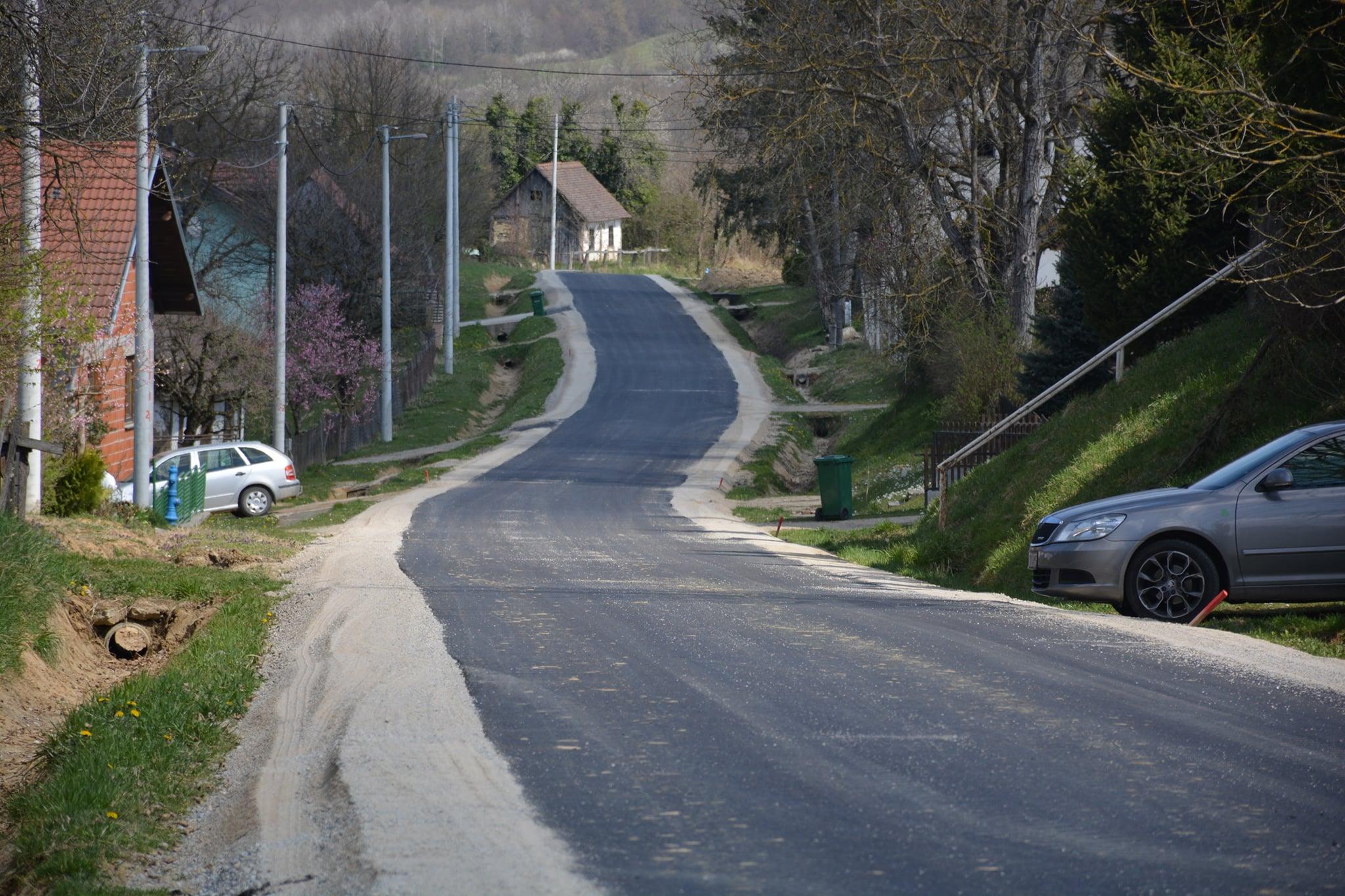 Asfalt je u maleno moslavačko selo privukao nove stanovnike