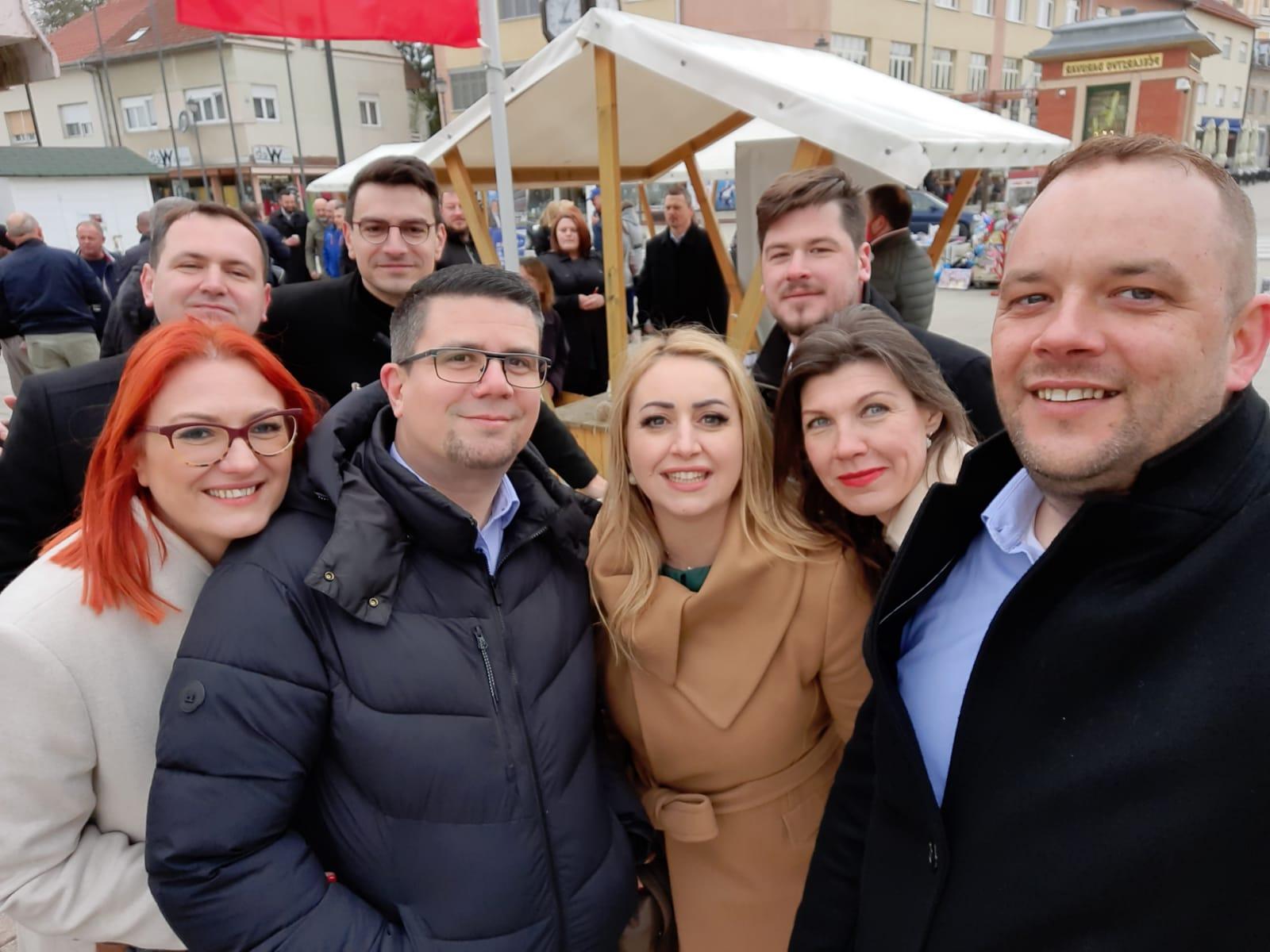 Saborski zastupnici dali podršku kandidatima u BBŽ