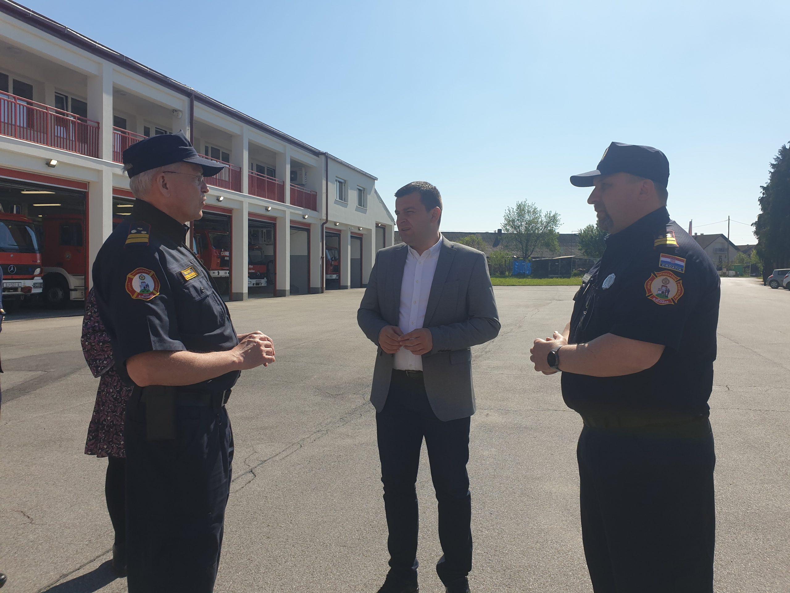 Bjelovarski vatrogasci bili su aktivni na intervencijama na svim potresom pogođenim područjima
