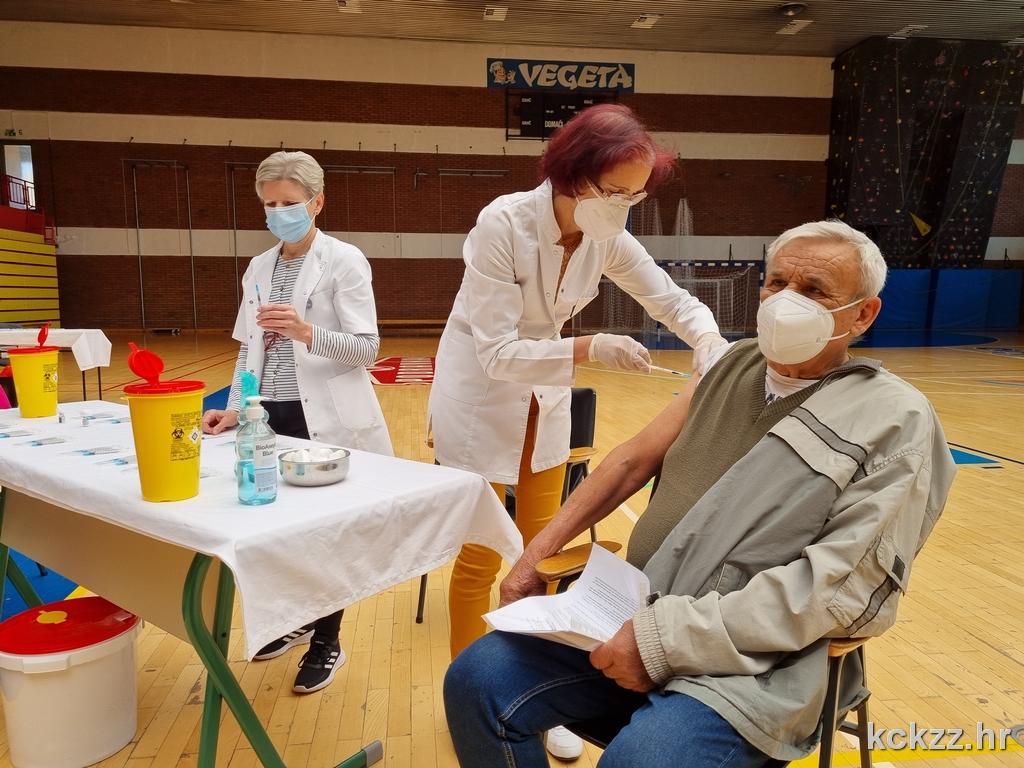 Danas se u Koprivnici protiv koronavirusa cijepi 3600 građana