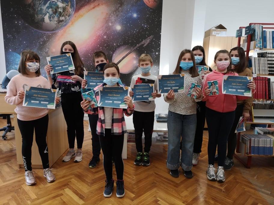 Osnovnoškolci iz Križevaca uz lektiru svaki mjesec čitaju još tri knjige