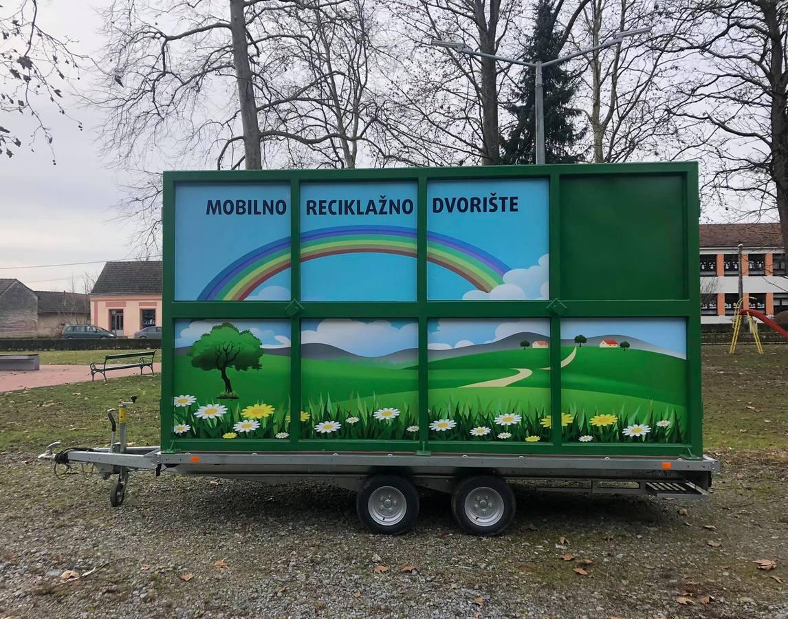 Umjesto u prirodu, mještani mogu odložiti ulje u mobilno reciklažno dvorište