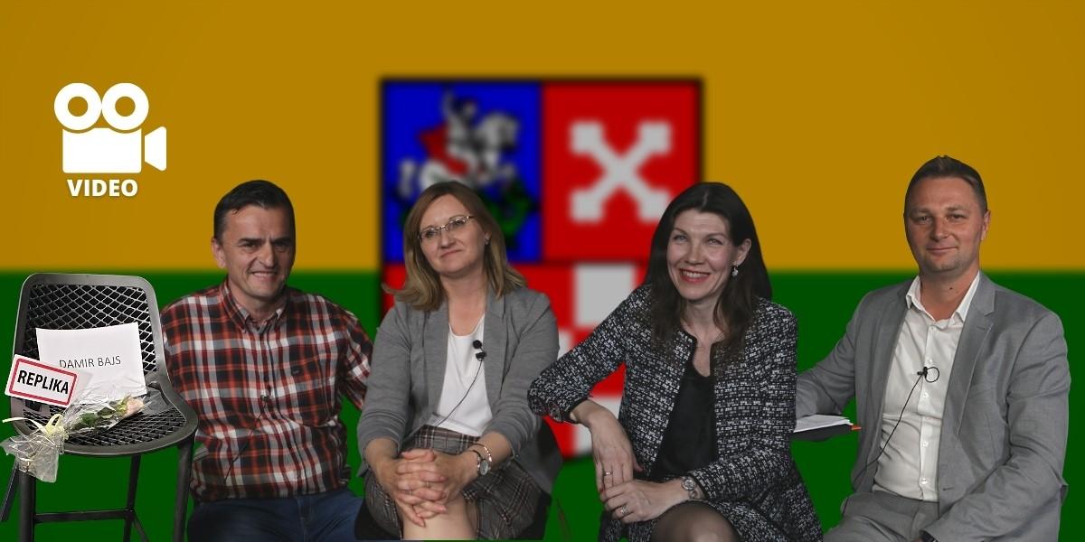 [VIDEO] Četvero kandidata uvjerava birače da mogu uspješno voditi županiju!