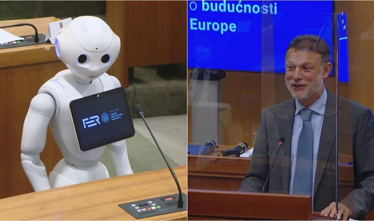 Sukob Jandrokovića i robota na konferenciji