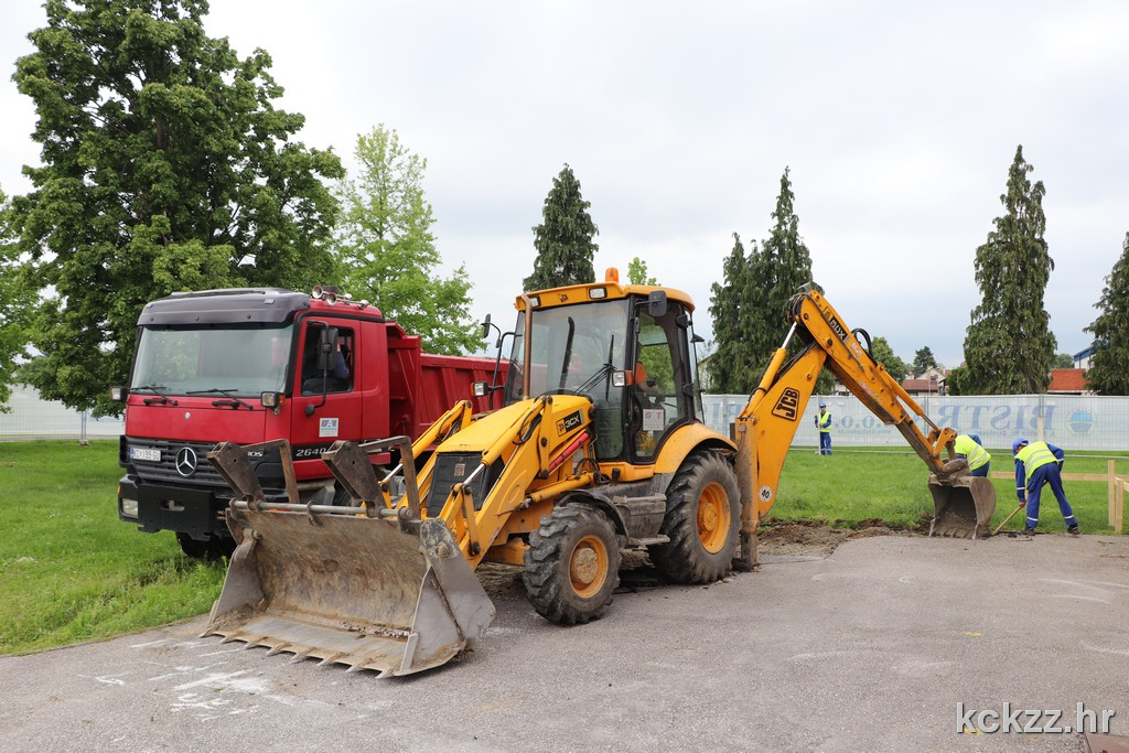 Počela izgradnja Centra kompetentnosti u Đurđevcu