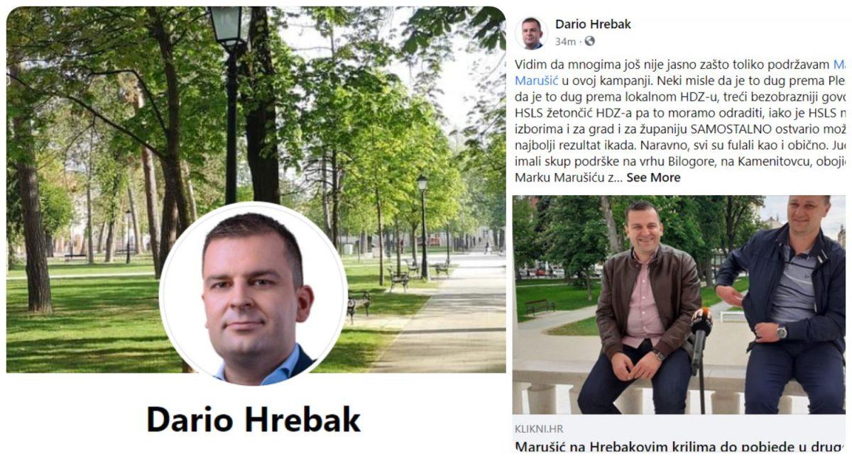 Hrebak: Umjesto političara premazanih svim mastima podržavam mladog čovjeka koji je u tri mjeseca okupio sve!