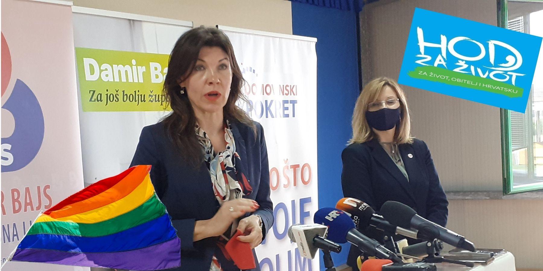 Hod za život i Gay pride u istoj povorci