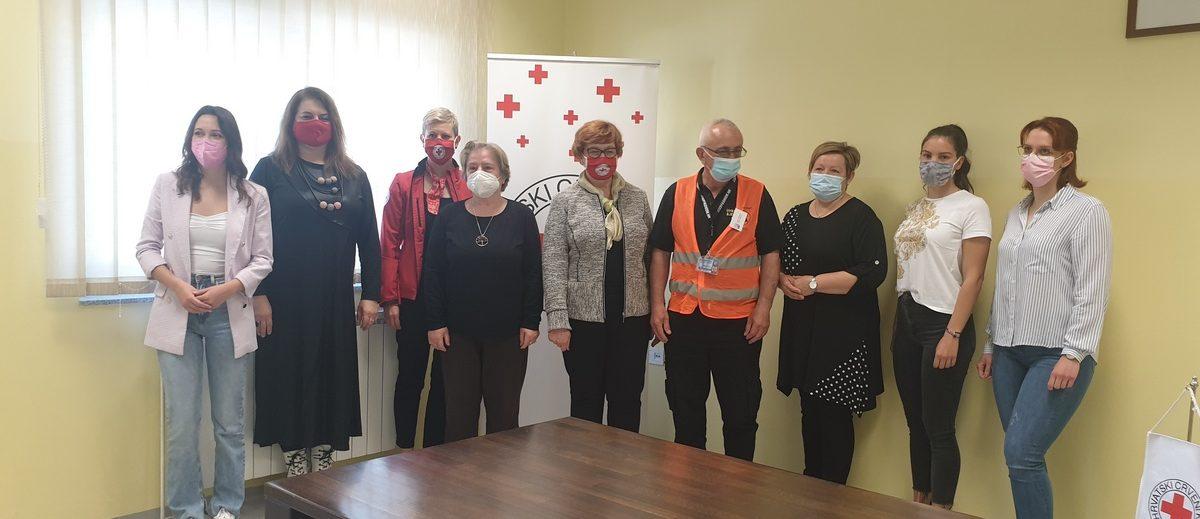 Gradsko društvo Crvenog križa Bjelovar dodijelilo zahvalnice volonterima