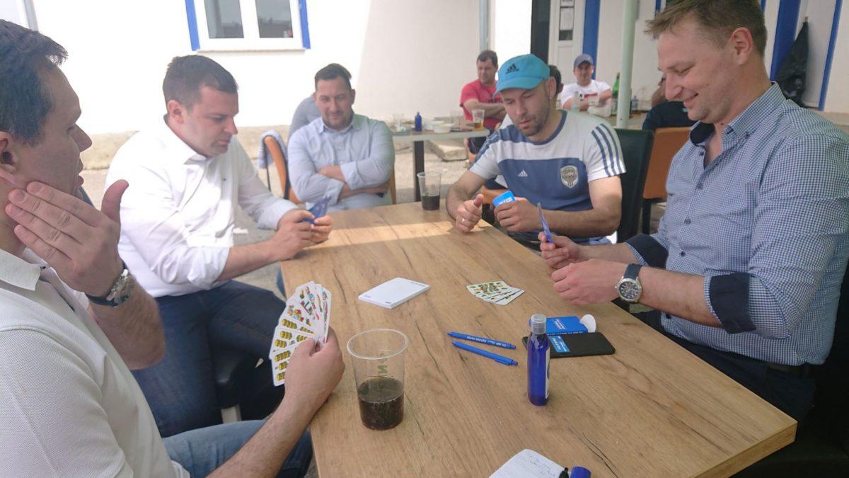 Marko Marušić, kandidat HDZ-a i HSLS-a, kampanju započeo nogometom u Gudovcu i belom s Hrebakom