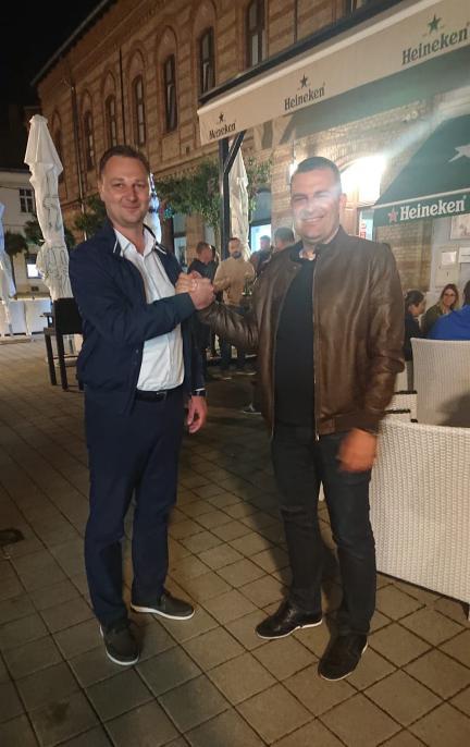 Hrebak slavio na rubu suza, pljesak dobio i čestitar Marko Marušić