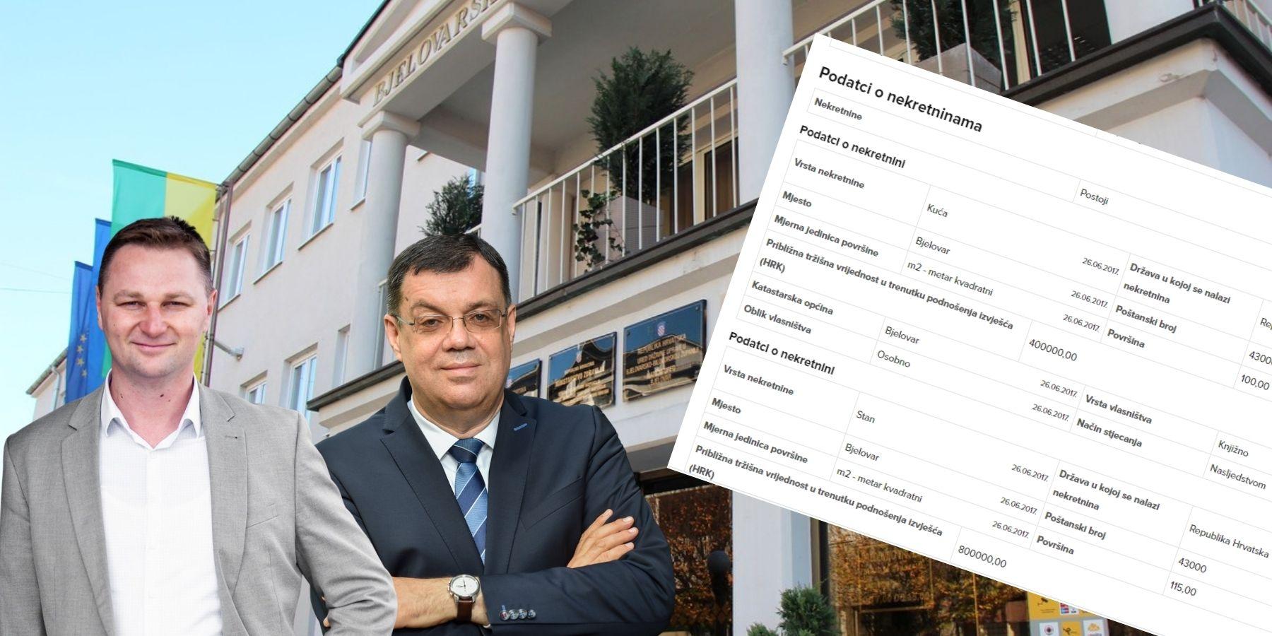 Imovinske kartice kandidata za župana - puno kvadrata i malo kredita