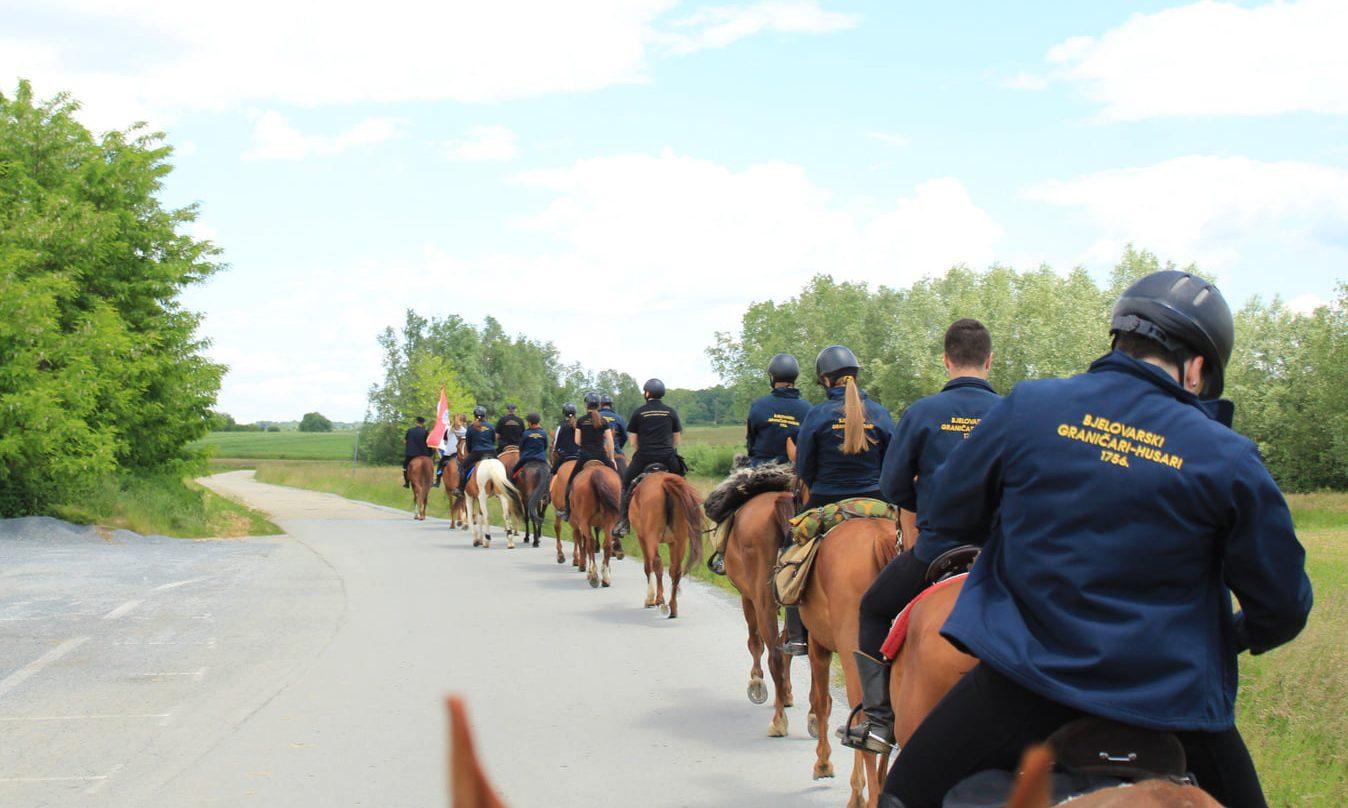 Bjelovarski graničari-Husari 1756. organizirali konjički maraton od Barutane do Peščenika