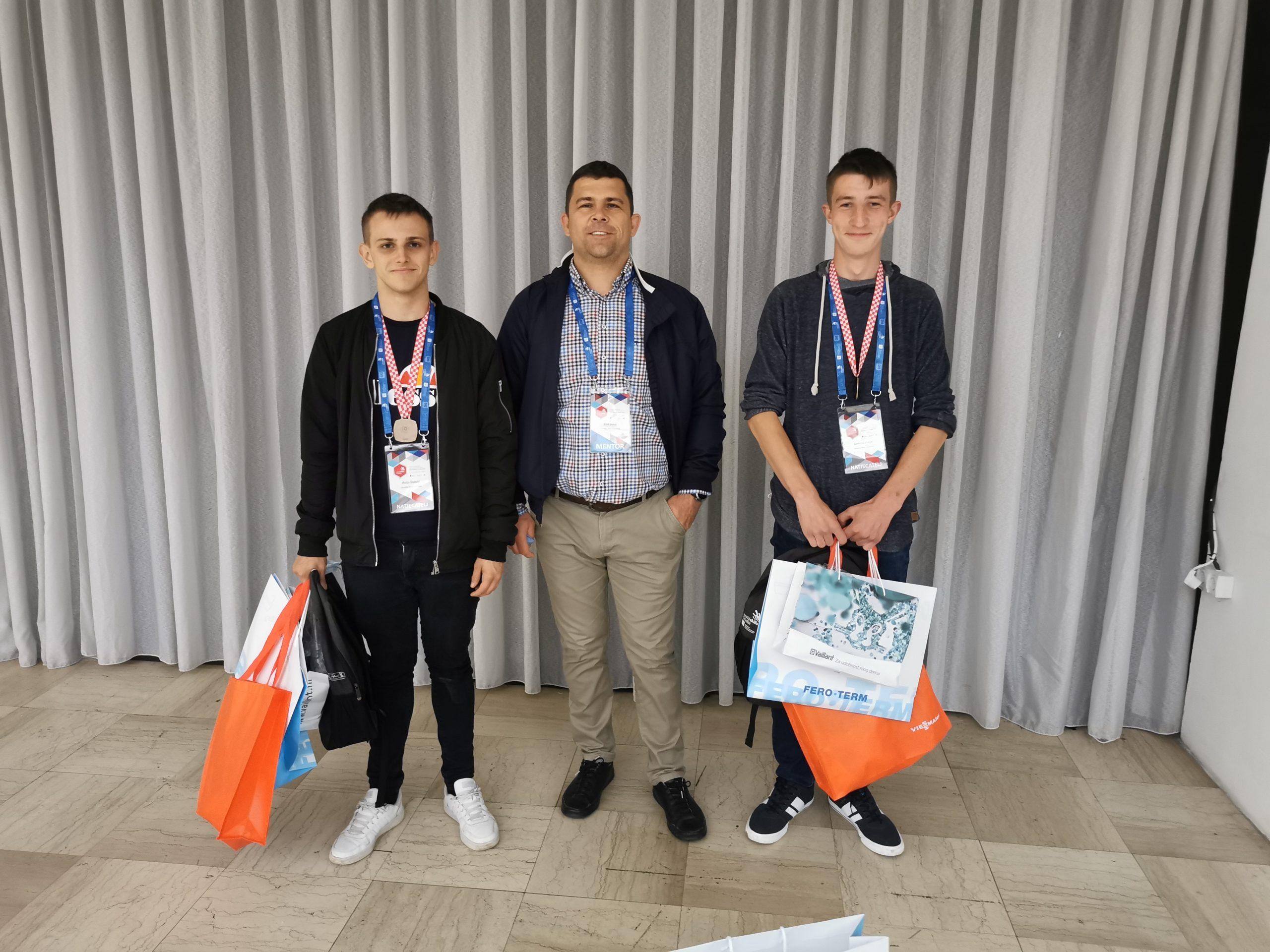 Učenici iz Koprivnice osvojili treće mjesto u državi