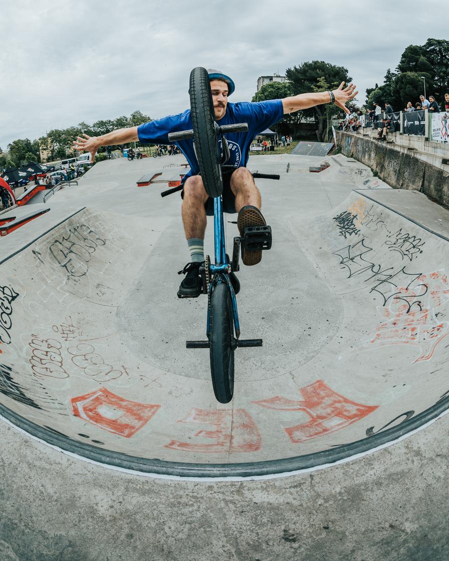 Mladi Bjelovarčanin u vrhu hrvatskog BMX Freestylea