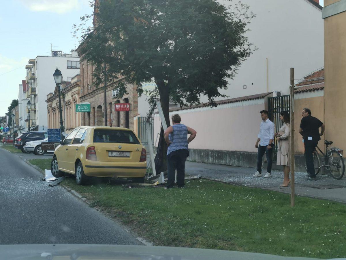 Nesreća u centru Bjelovara