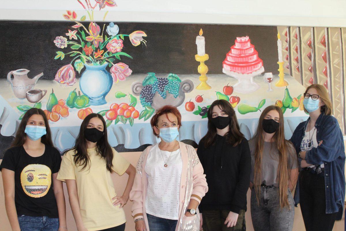 Učenici oslikali novi mural