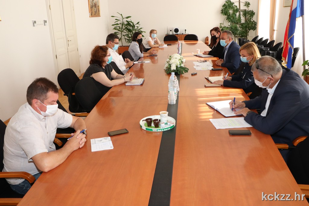 Županijski Stožer civilne zaštite na koordinaciji raspravljao o daljnjoj organizaciji cijepljenja