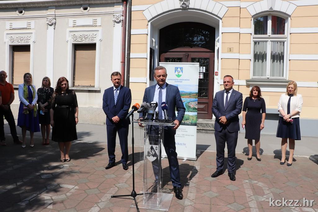 Župan Koren i zamjenik Ljubić službeno preuzeli dužnost u novom mandatu