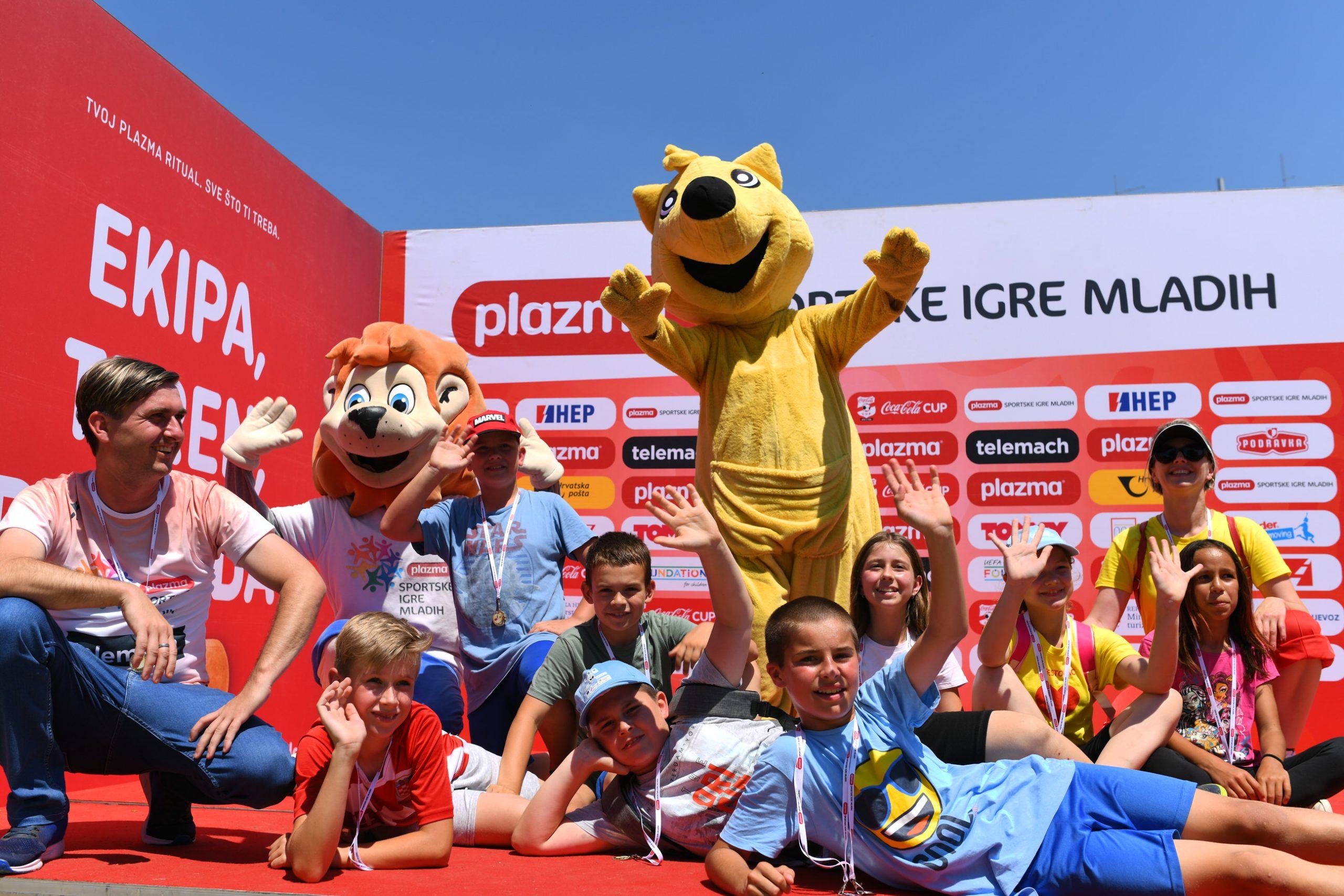 [FOTO] Najbolji maleni sportaši idu na veliku završnicu u Split