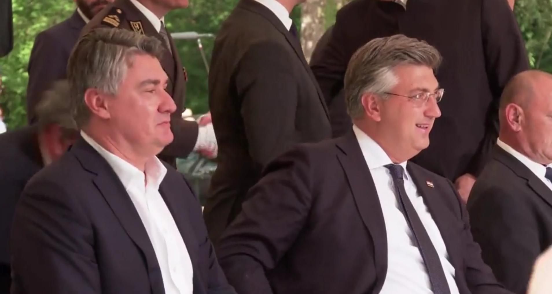 Milanović: Di ste partizani?