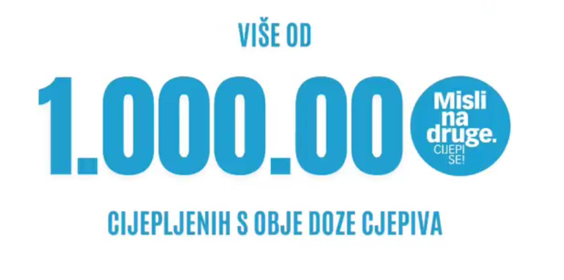 Plenković: Jučer smo prešli broj od milijun osoba cijepljenih s obje doze