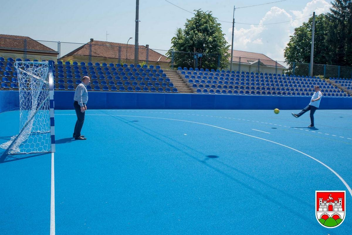 Daruvarskom stadionu Sokol vraćen stari sjaj