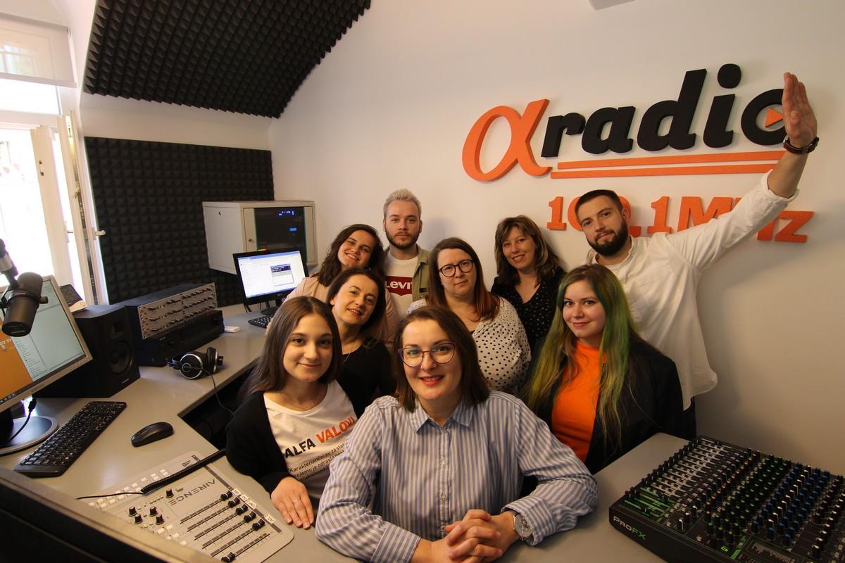 Alfa radio u samo dvije godine postao je vodeći medij u Bjelovarsko-bilogorskoj županiji